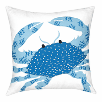 Cayman Crabby Pillow