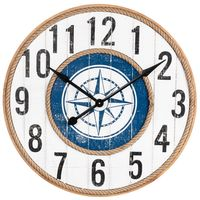 Champagne Beach Wall Clock