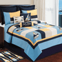 Channel Harbor Twin Quilt