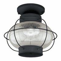 Chatham Black Outdoor Ceiling Light