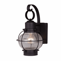 Chatham Black Outdoor Wall Sconce - 6 Inch
