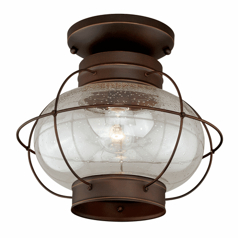Chatham Bronze Outdoor Ceiling Light