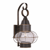 Chatham Bronze Outdoor Wall Sconce - 13 Inch