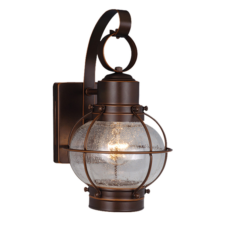 Chatham Bronze Outdoor Wall Sconce 6 Inch