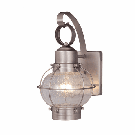 Chatham Nickel Outdoor Wall Sconce - 6 Inch