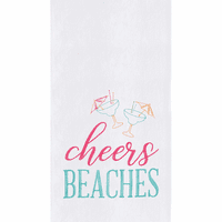 Cheers Flour Sack Towels - Set of 6