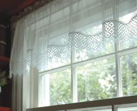 Chelsea Flax Lace Valance