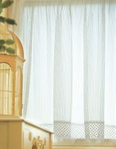 Chelsea White Lace Window Treatments