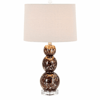 Chocolate Swirl Table Lamp