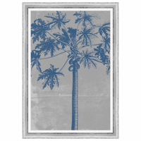 Chromatic Palms VIII Framed Print