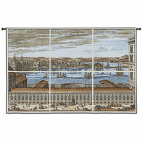Citte di Europa Wall Tapestry
