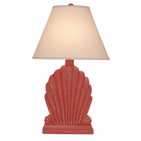 Clam Fan Table Lamp