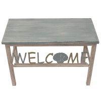 Clam Shell Welcome Bench