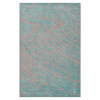 Clayton Ripples Aruba Blue Rug Collection