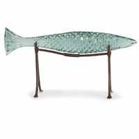 Clearwater Fish Table Statuary - Medium