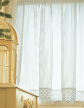 Clelsea Flax Lace Window Treatments