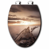 Cliffside Bay Toilet Seat - White - Elongated