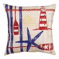 Coastal Breeze Starfish Indoor/Outdoor Pillow