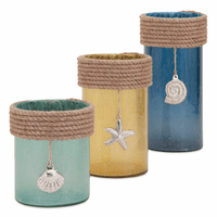 Coastal Charm Hurricanes - Set of 3