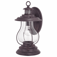 Coastal Cottage Motion Sensor Outdoor Wall Sconce