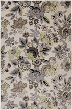Coastal Flower Rug Collection