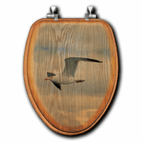 Coastal Gull Toilet Seats