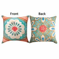 Coastal Gypsy Medallion Reversible Pillow