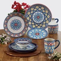 Coastal Medallion Dinnerware Collection