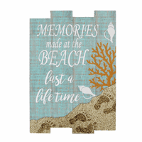 Coastal Memories Wall Sign