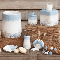 Coastal Mist Bath Accessories