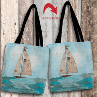 Coastal Notes I Tote Bag