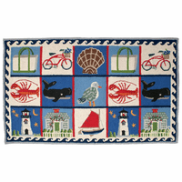 Coastal Quilt Rug Collection