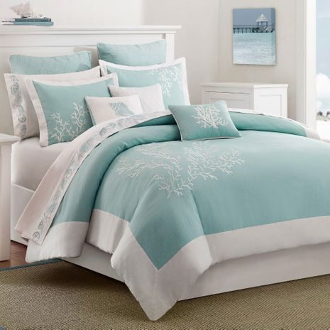 Coastal Reef 3 Piece Bed Set - Twin