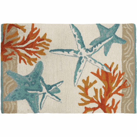 Coastal Reef Accent Rug