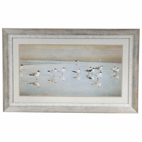 Coastal Reflections Framed Art