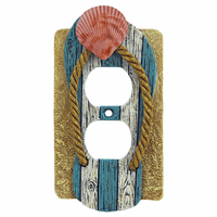 Coastal Shell Outlet Cover