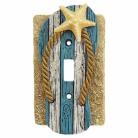 Coastal Shell Switch Covers