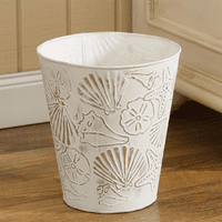 Coastal Shells Waste Basket
