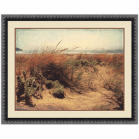 Coastal Shrubs I Canvas Art
