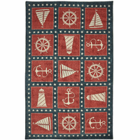 Coastal Stars Rug Collection