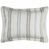 Coastal Stripe King Sham