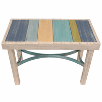 Coastal Stripes Bench