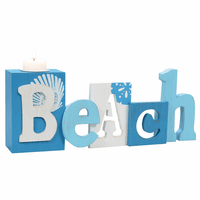 Coastal Tones Beach Candle Holder - CLEARANCE