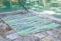 Coastal Waves Rug Collection