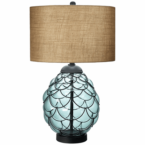 Coastline Glass Table Lamp