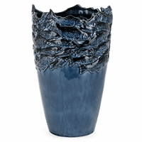 Cobalt Ceramic Large Vase