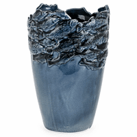 Cobalt Ceramic Small Vase
