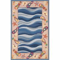 Colonial Fun in the Sun Rug Collection