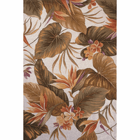 Colonial Ivory Tropical Paradise Rug Collection