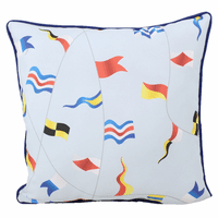 Colorful Flags Indoor/Outdoor Pillow
